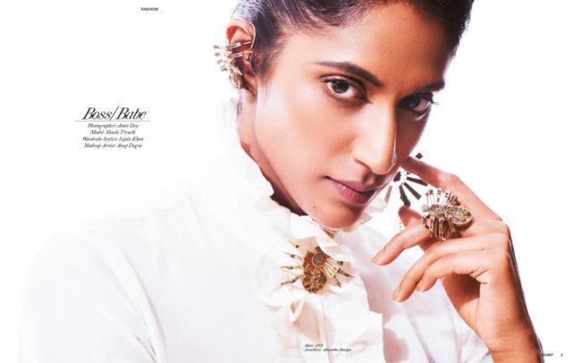 Fashion editorial Boss/Babe by Amit Dey, published in Elegant Magazine Aug 2017