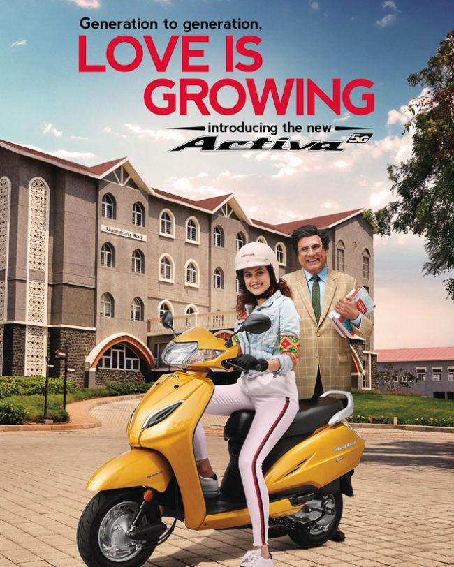 Honda Activa 5G Campaign by Amit Dey