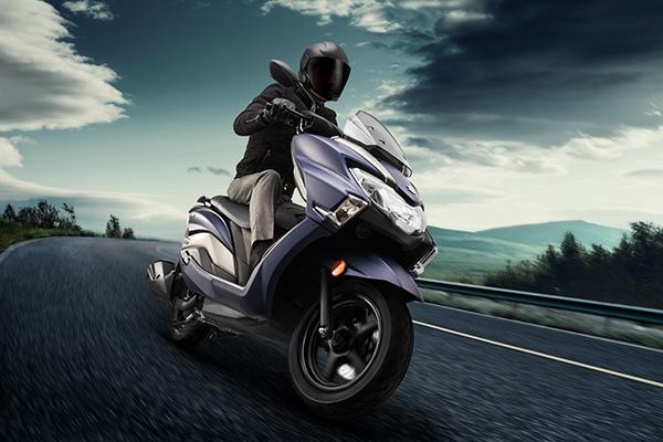 Suzuki Scooters by Amit Dey